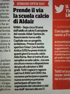 articolo-corriere-sport-scuola-calcio-alda-roma