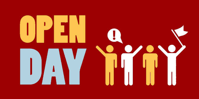 PARTONO GLI OPEN DAY 2019/20