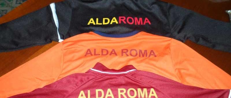 Divise ufficiali Alda Roma